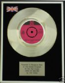 "THE KINKS - 7"" Platinum Disc - TIRED OF WAITING"